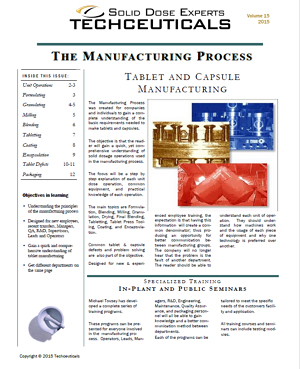 Manufacturing Process - Free Training Resource